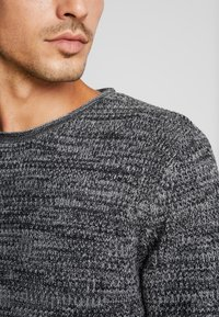 edc by Esprit - STRUCTURED - Jumper - black - 4