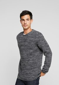 edc by Esprit - STRUCTURED - Jumper - black - 0
