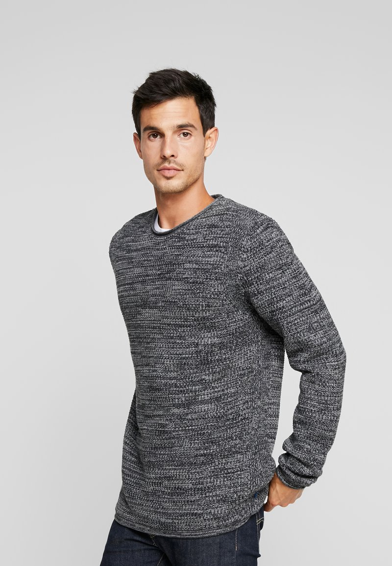 edc by Esprit - STRUCTURED - Jumper - black