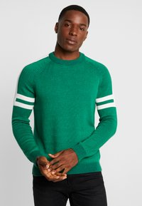 edc by Esprit - SPORTY  - Pullover - green - 0
