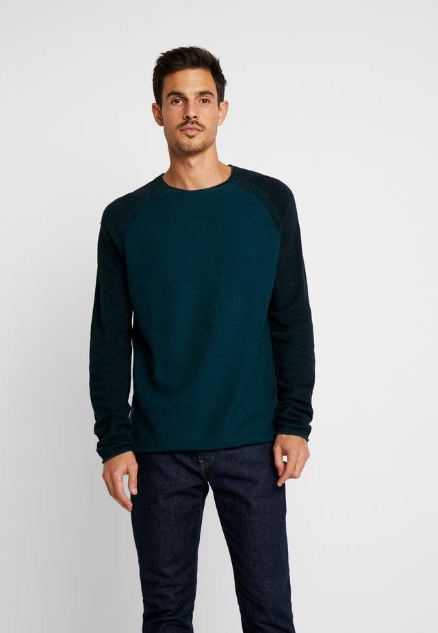 CONTRAST - Jumper - dark teal green