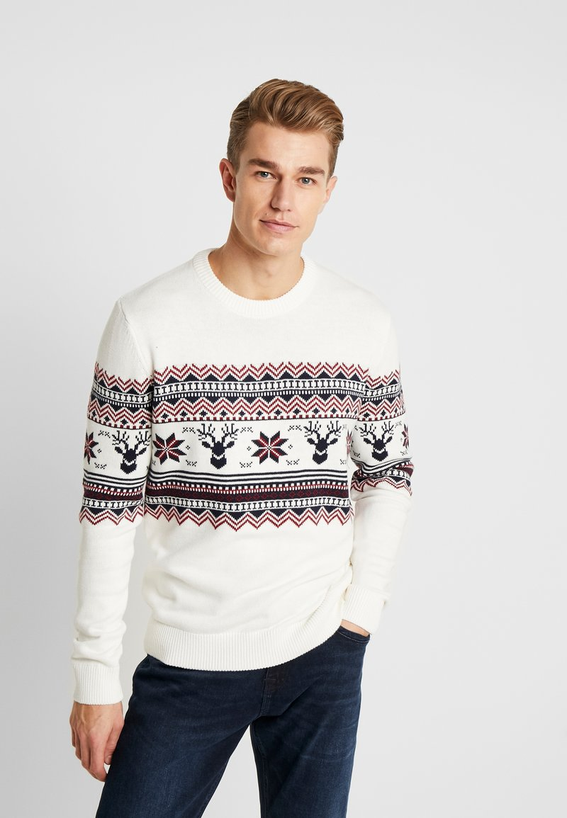 edc by Esprit - CHRISTMAS - Jumper - offwhite