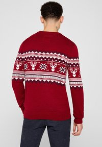 edc by Esprit - CHRISTMAS - Pullover - red - 2