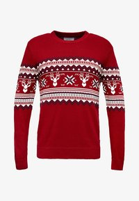 edc by Esprit - CHRISTMAS - Pullover - red - 4
