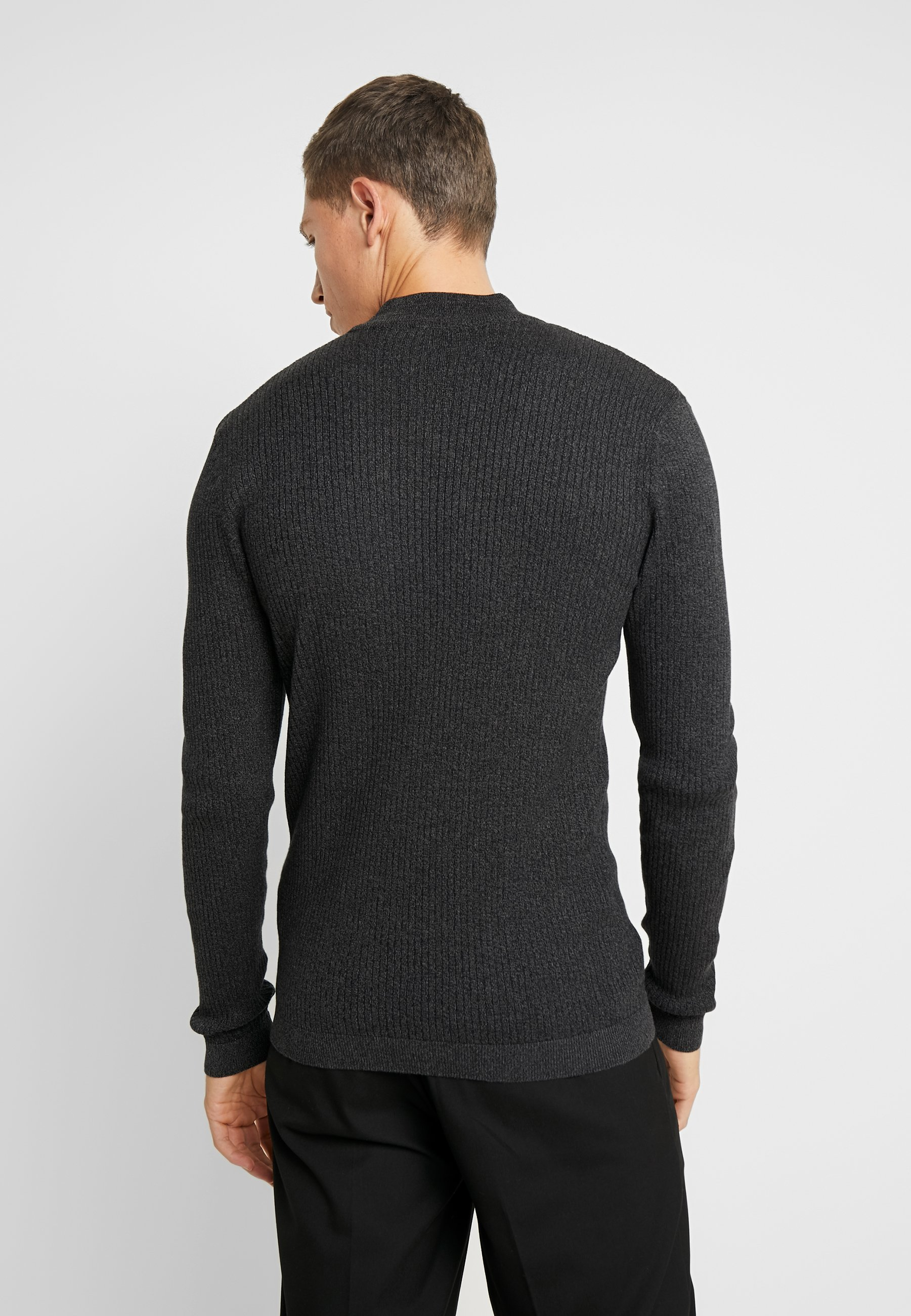 edc by Esprit MUSCLE TURTLE - Sweter - dark grey