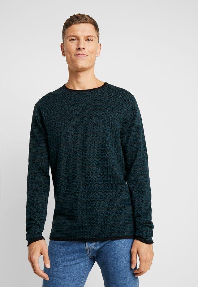 Jersey de punto - dark teal green