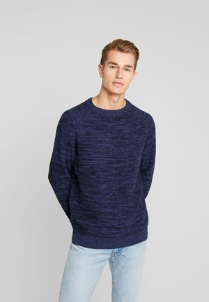 STRUCTURED  - Pullover - navy