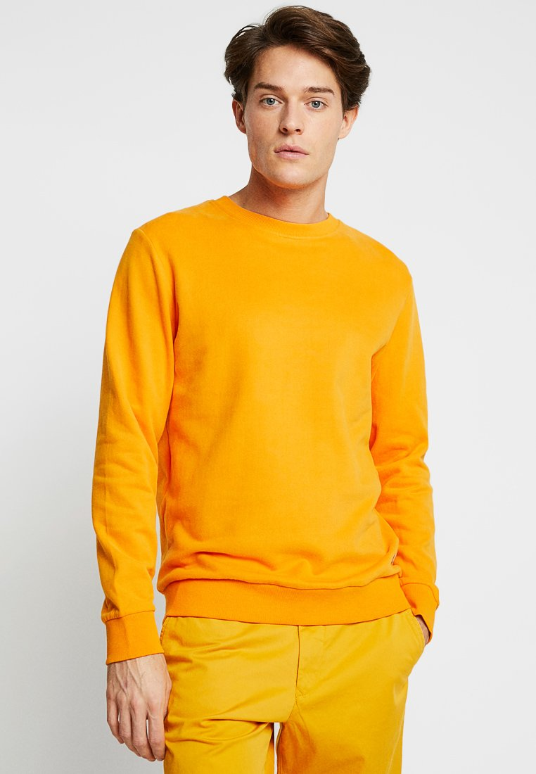edc by Esprit - BEST BASIC C-NECK - Sweatshirt - orange