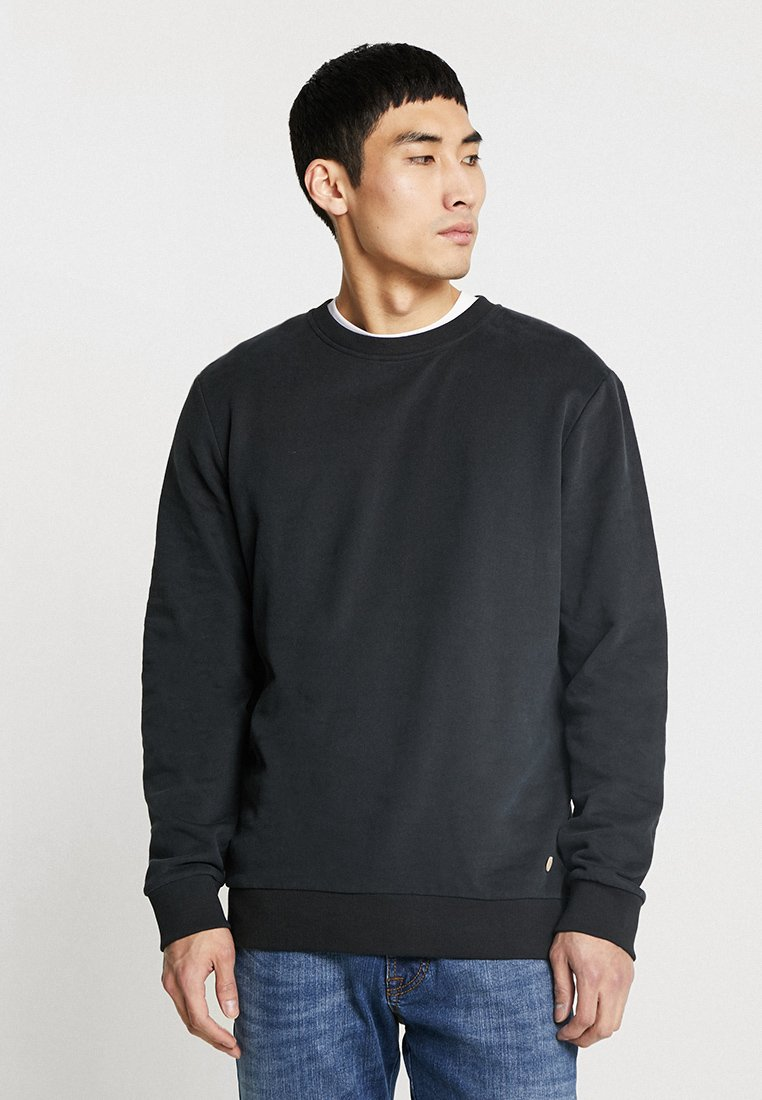 edc by Esprit - BEST BASIC C-NECK - Sweatshirt - black