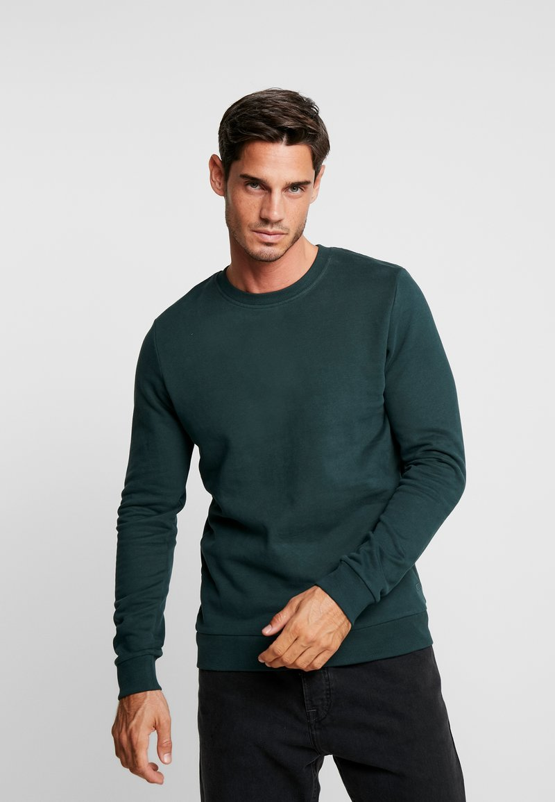 edc by Esprit - BEST BASIC - Sweatshirt - bottle green