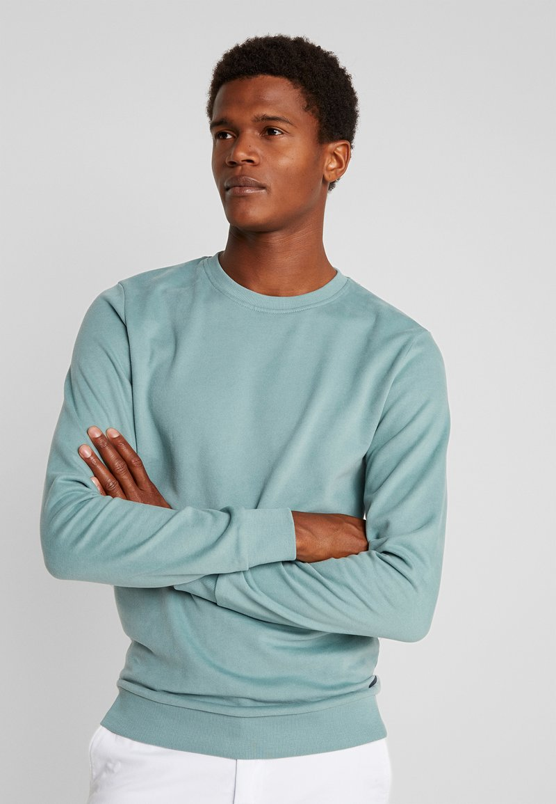 edc by Esprit - BEST BASIC - Sweatshirts - light aqua green