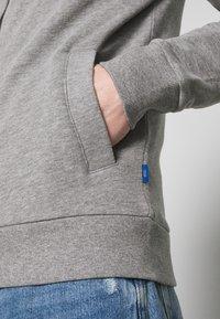 edc by Esprit - BOMB PEACH - Sudadera con cremallera - medium grey - 4