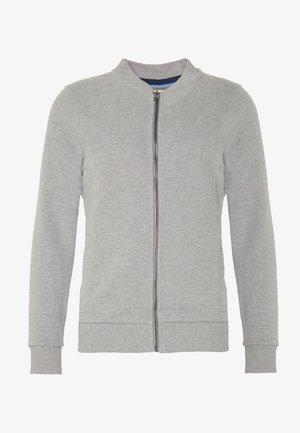 BOMB PEACH - veste en sweat zippée - medium grey