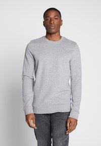 edc by Esprit - CREW PEACH - Sweater - medium grey - 0