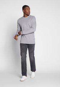 edc by Esprit - CREW PEACH - Sweater - medium grey - 1