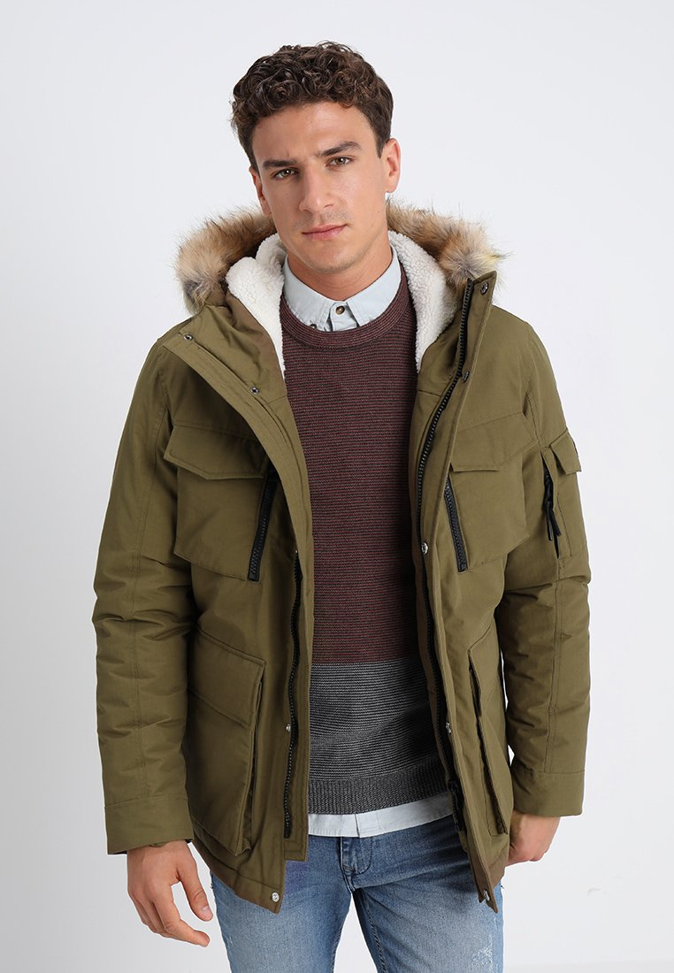 edc by Esprit - LONG FIELD - Winterjacke - light khaki