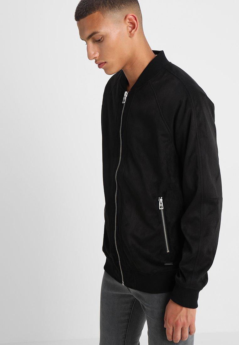 edc by Esprit - Faux leather jacket - black