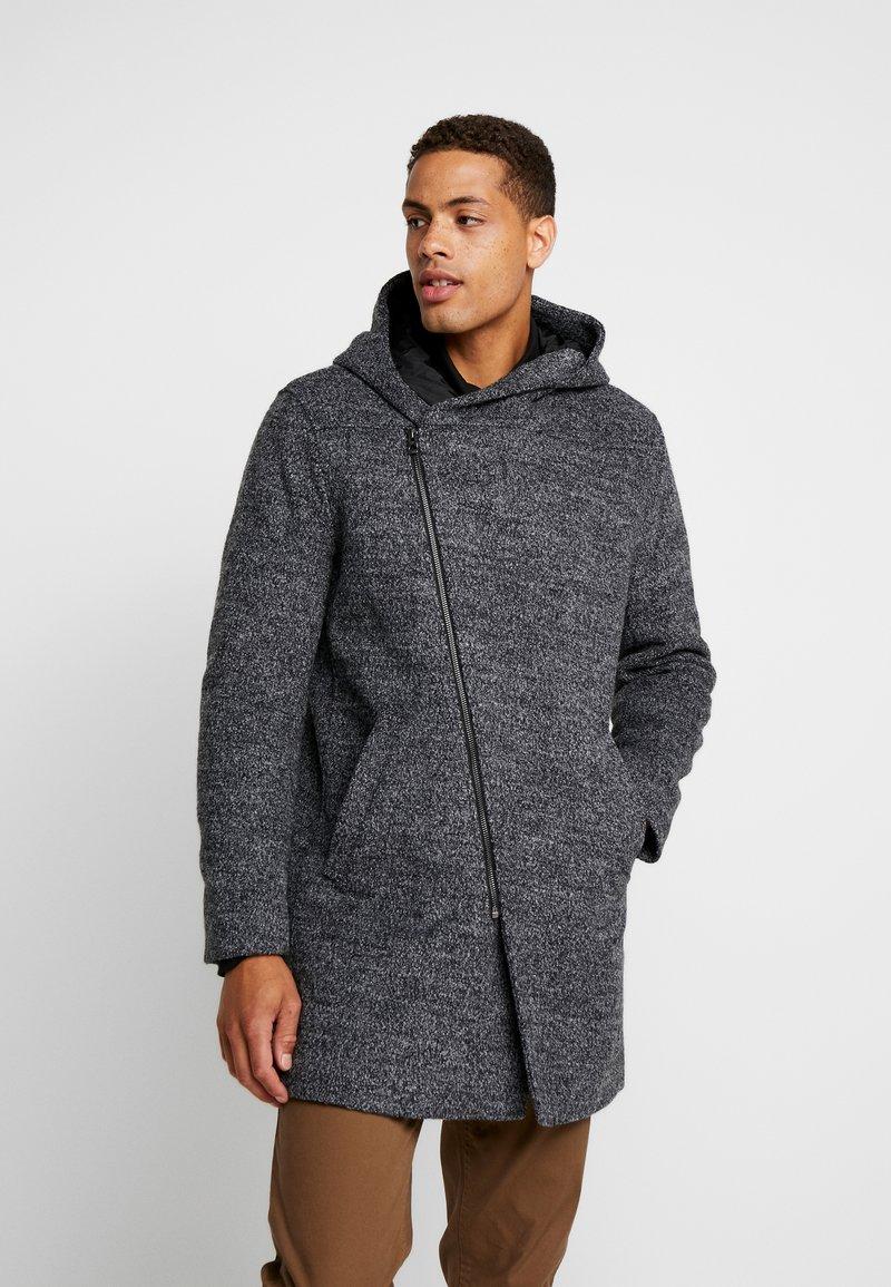 edc by Esprit - ASYMMETRC COAT - Classic coat - grey