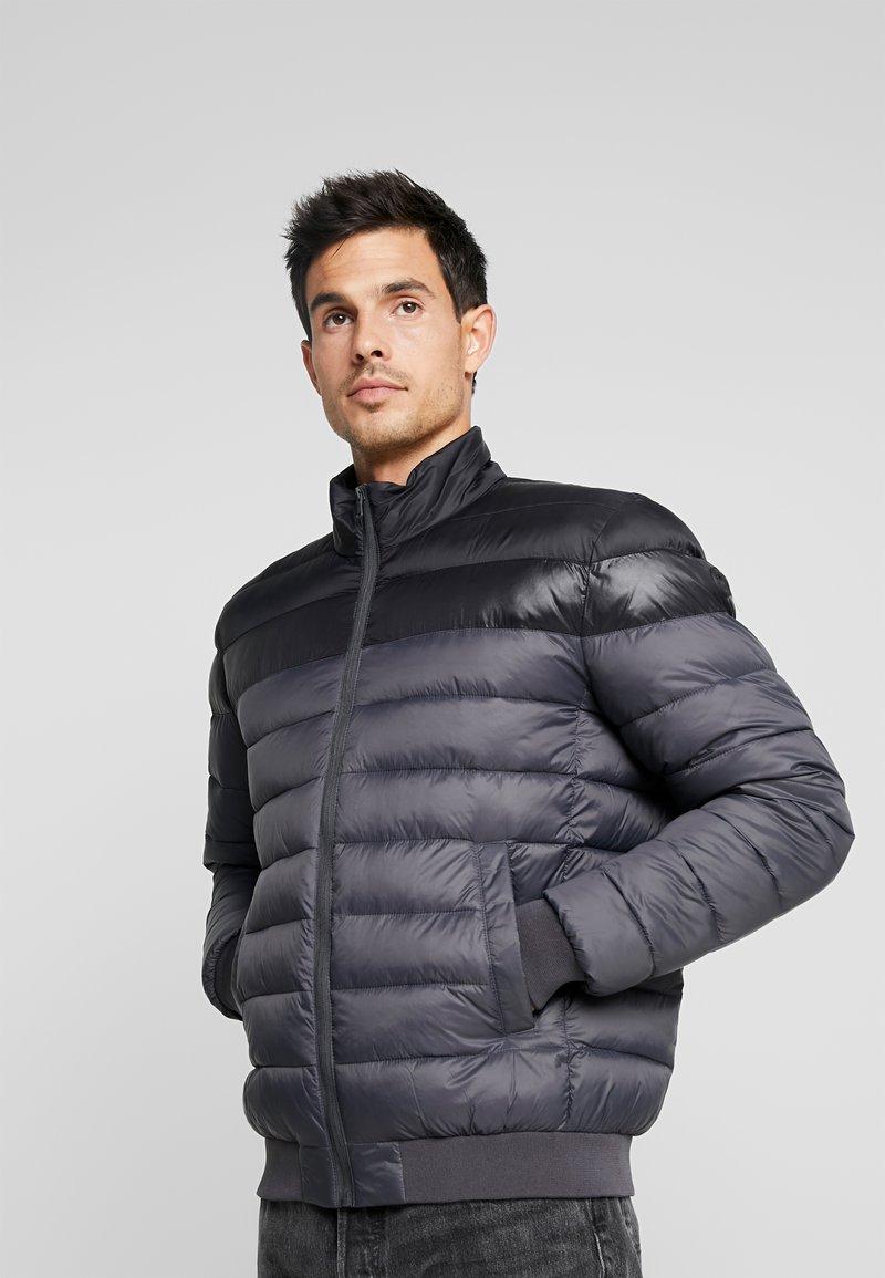edc by Esprit - PUFFER BLOUSON - Light jacket - black