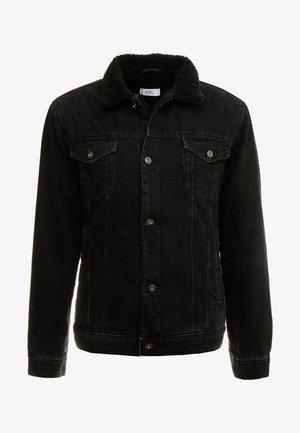 Džínová bunda - black dark wash