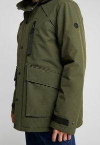 edc by Esprit - RIPSTOP  - Winter coat - dark khaki - 4