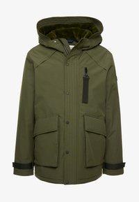 edc by Esprit - RIPSTOP  - Winter coat - dark khaki - 6