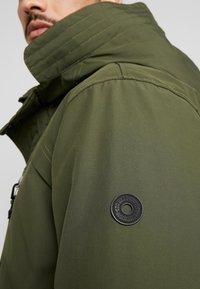 edc by Esprit - RIPSTOP  - Winter coat - dark khaki - 5