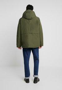edc by Esprit - RIPSTOP  - Winter coat - dark khaki - 2