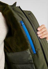 edc by Esprit - RIPSTOP  - Winter coat - dark khaki - 3