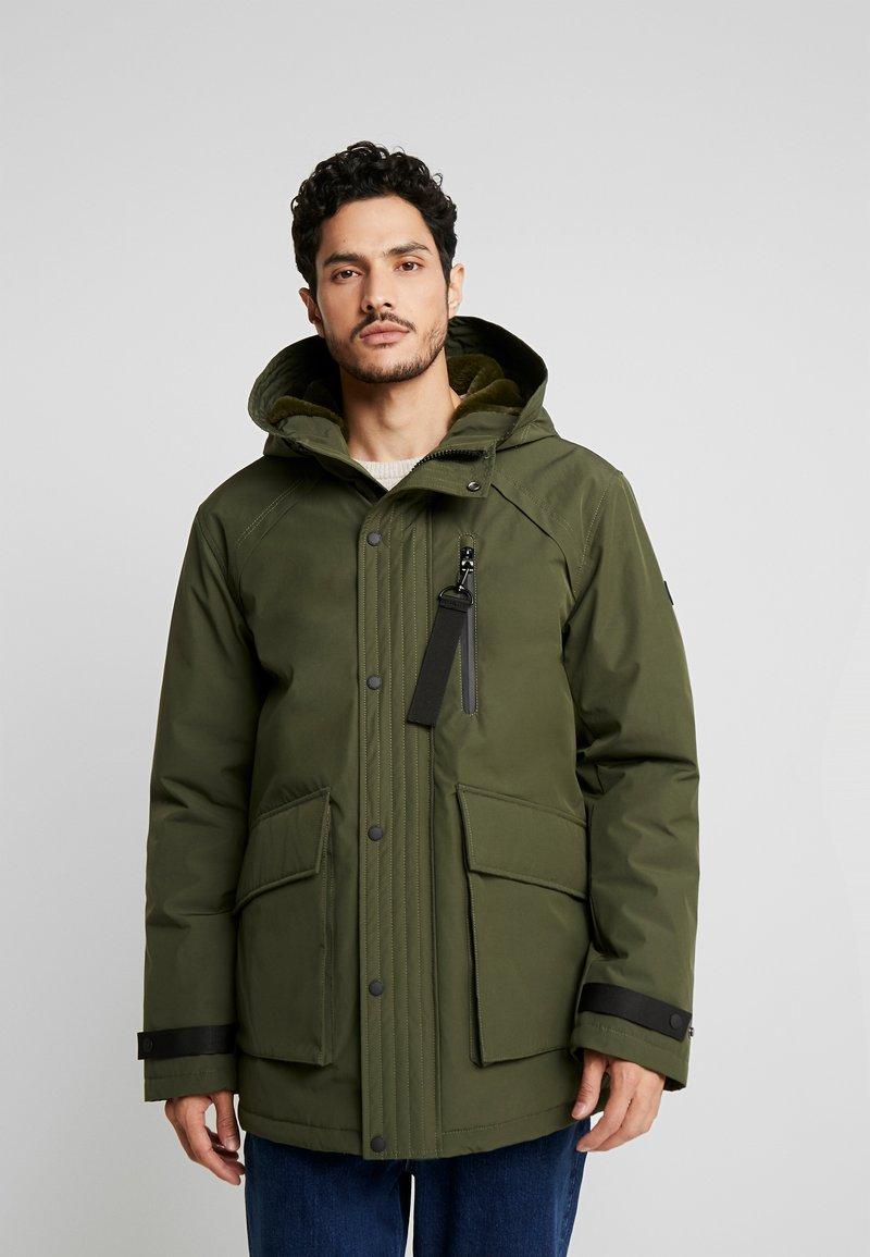 edc by Esprit - RIPSTOP  - Winter coat - dark khaki