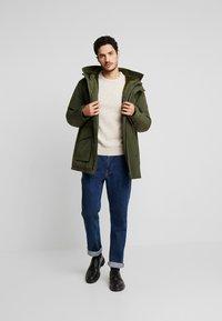 edc by Esprit - RIPSTOP  - Winter coat - dark khaki - 1