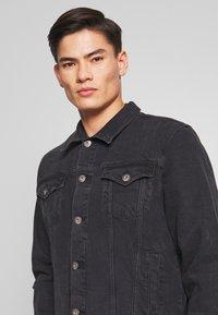 edc by Esprit - Denim jacket - black medium wash - 3