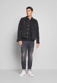 edc by Esprit - Denim jacket - black medium wash - 1