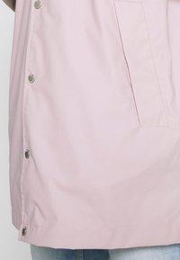 edc by Esprit - RAIN COAT - Impermeabile - light pink - 5