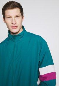 edc by Esprit - TRACK JACKET - Kevyt takki - dark teal green - 3