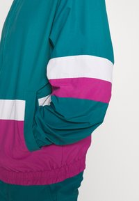 edc by Esprit - TRACK JACKET - Kevyt takki - dark teal green - 5