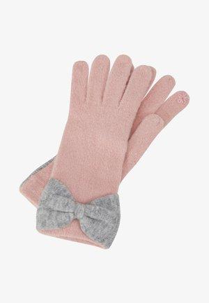 BOWGLOVES - Gloves - light pink