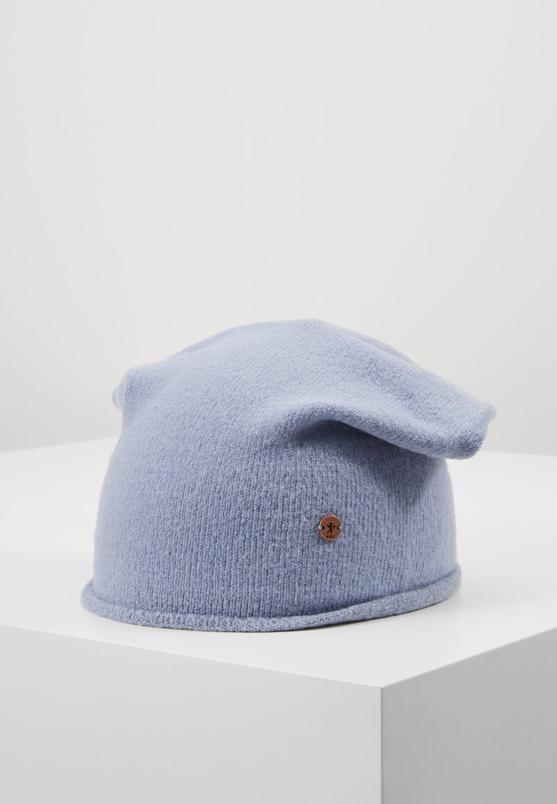 edc by Esprit - SOLID BEANIE - Beanie - light blue lavender