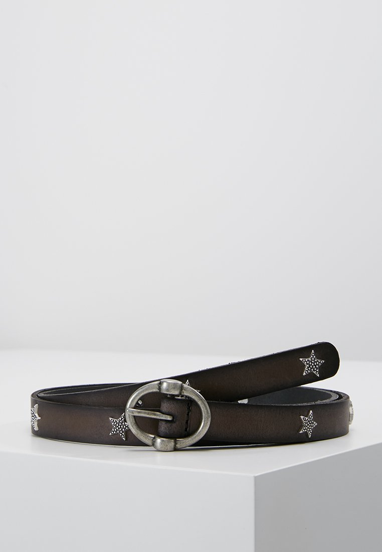 edc by Esprit - STAR STUD BELT - Belt - dark grey