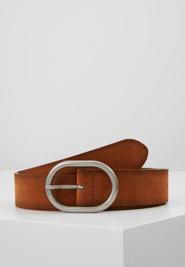 PREMIUM BELT - Riem - rust brown