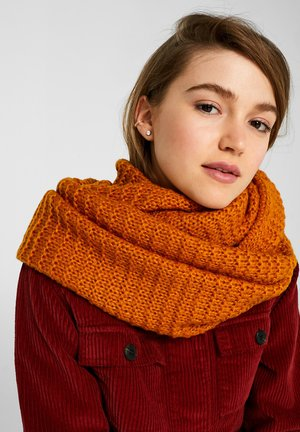 LOOP - Tubehalstørklæder - amber yellow