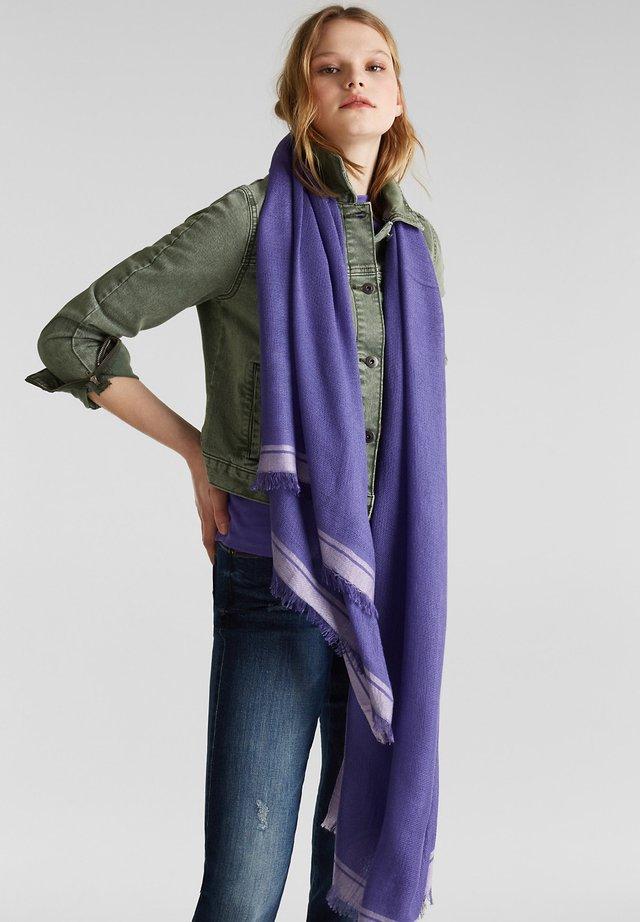 MIT STREIFEN - Écharpe - violet