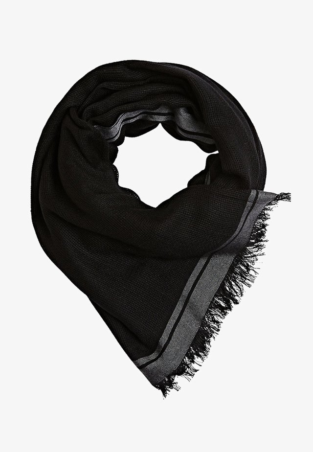 MIT STREIFEN - Écharpe - black