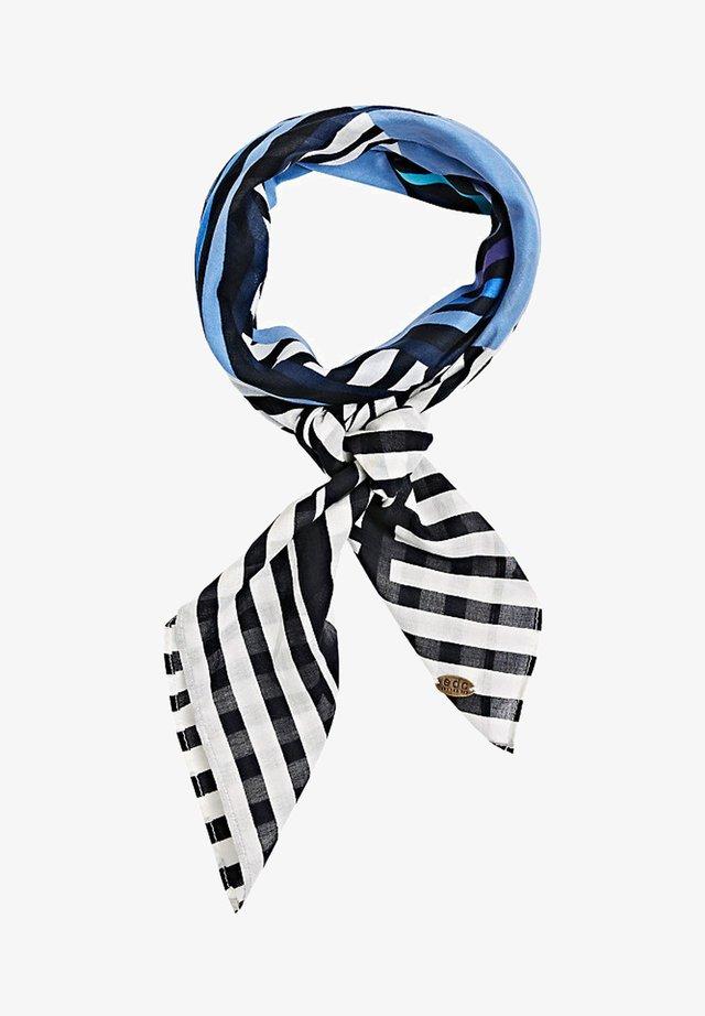 MIT DIESEM SCHAL UNTERSTREICHST DEI - Sjaal - bright blue