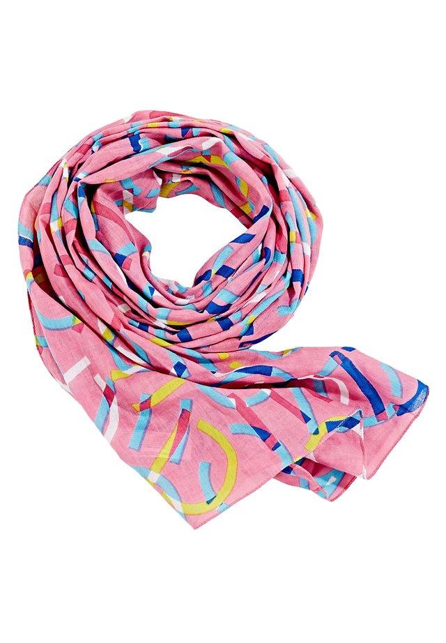 SCHAL AUS 100% BIO-BAUMWOLLE - Sjal / Tørklæder - pink