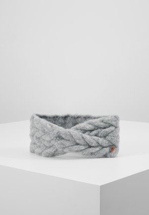 BRAIDCRICROSSHE - Ear warmers - grey