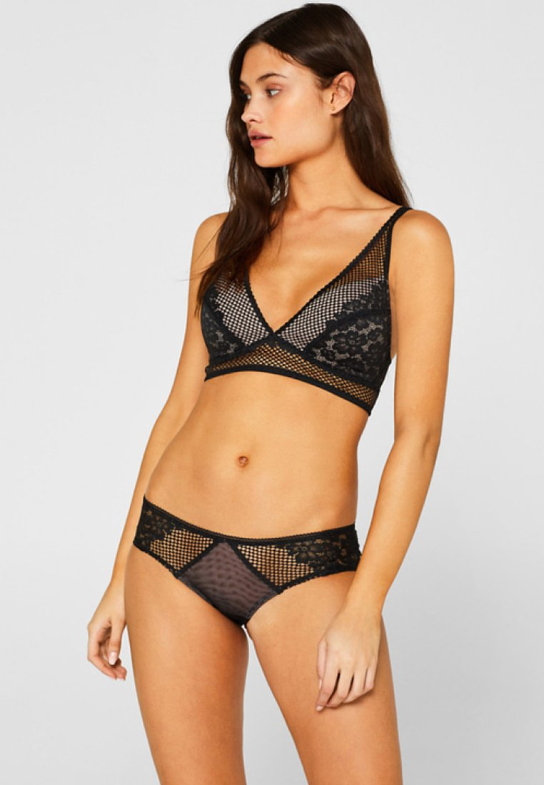 edc by Esprit - Triangle bra - black