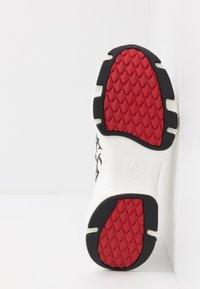Ed Hardy - RUNNER TRIBAL - Zapatillas altas - white - 4