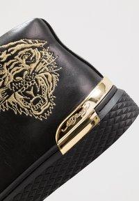 Ed Hardy - NEW BEAST TOP - Sneaker high - black/gold - 5