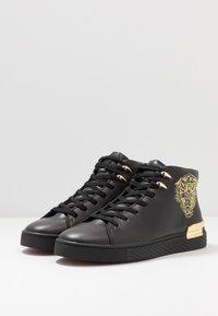 Ed Hardy - NEW BEAST TOP - Sneaker high - black/gold - 2